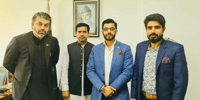Ch Naeem Ejaz Meeting Ali Muhammad Khan