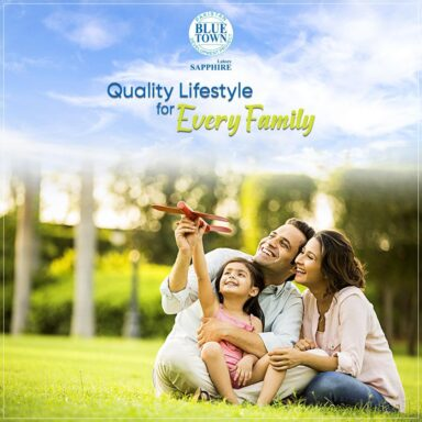 Blue Town Sapphire offers a complete and quality lifestyle to every family.