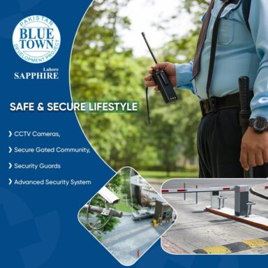 At Blue Town Sapphire your safety is our top priority