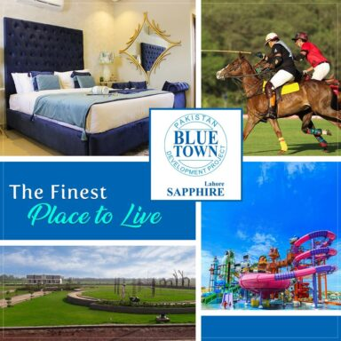 Blue Town Sapphire is the finest place to live your dream lifestyle