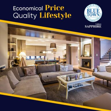 Blue Town Sapphire offers Quality Lifestyle at Economical Rates