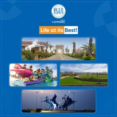 Blue Town Sapphire, with state-of-the-art amenities and facilities, is the best lifestyle community in town.