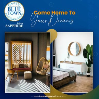 Come home to your dreams at Blue Town Sapphire: Lahore's next lifestyle destination