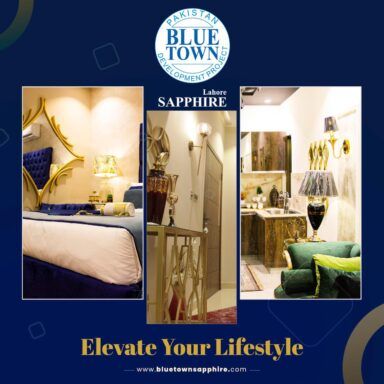Elevate your lifestyle. Make Blue Town Sapphire your new home.