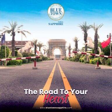 Sapphire Avenue at Blue Town Sapphire - The Road to Your Heart!