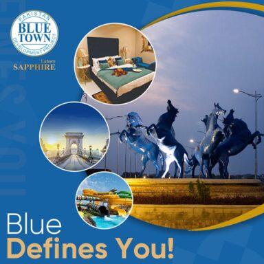 Blue defines you!