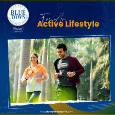 Choose an active lifestyle. Choose Blue Town Sapphire!