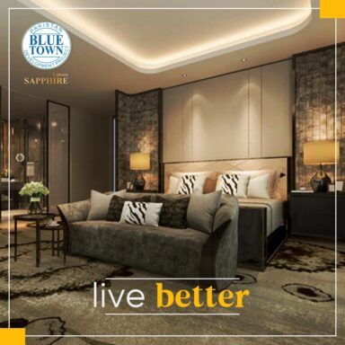 LIVE BETTER at Blue Town Sapphire!