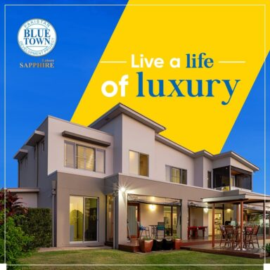 Live a life of luxury at Blue Town Sapphire