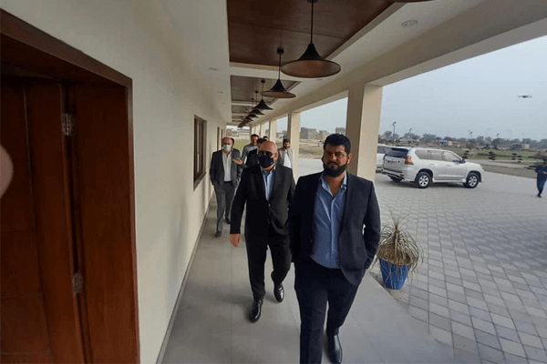 President of Turkish Hotel Management visited Blue Town