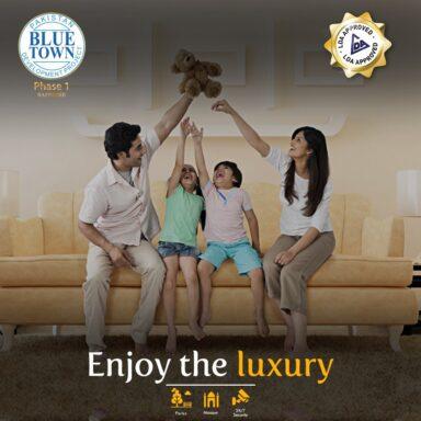 Enjoy the luxury