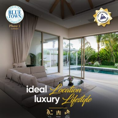 Ideal location and luxury lifestyle