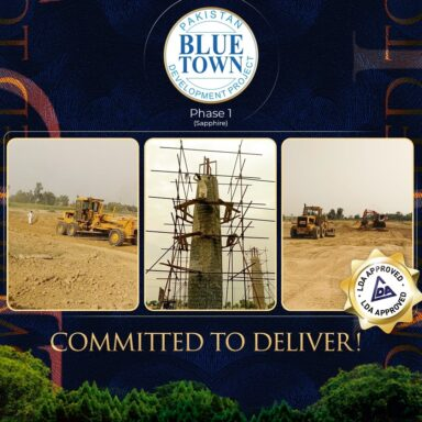 Team Blue Town is committed to deliver
