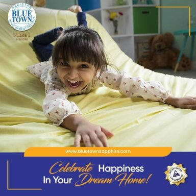 Celebrate happiness in your dream home.