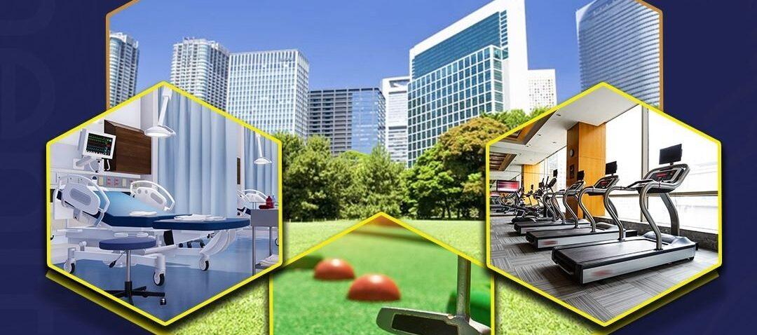 Unlock a world of international standard amenities.