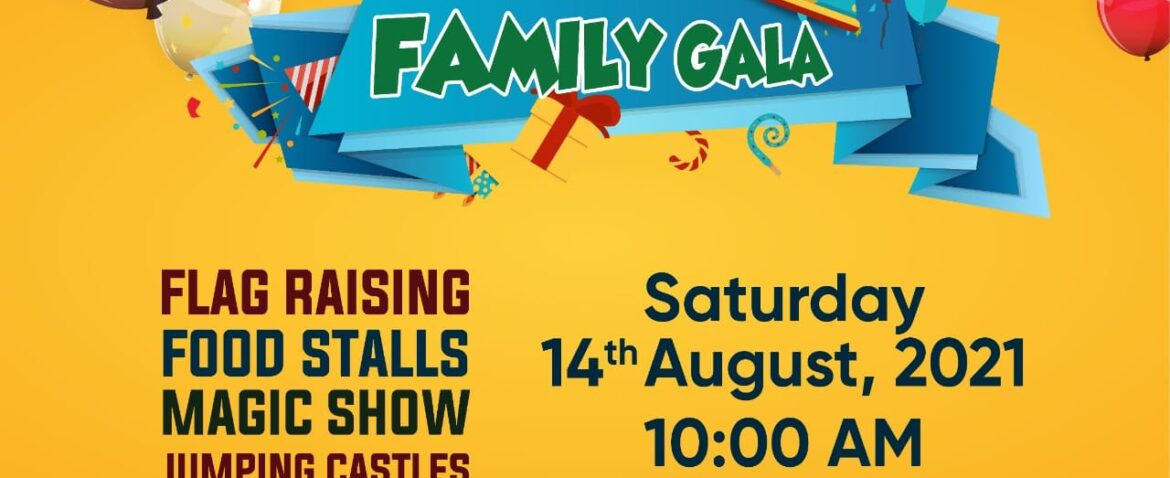 14th August Family Gala