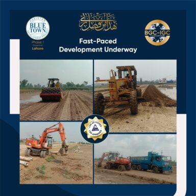 Fast-Paced Development Underway