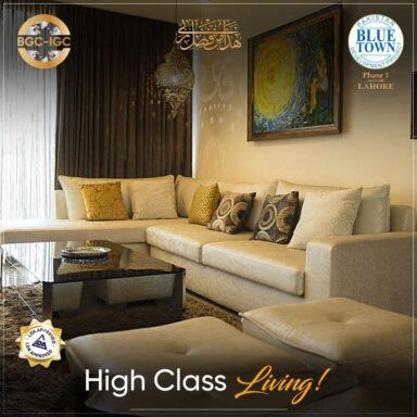 High-class living