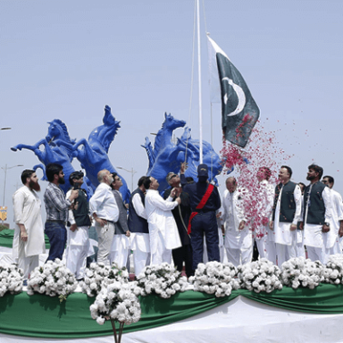 National Flag Raising Ceremony at 74th Independence Day