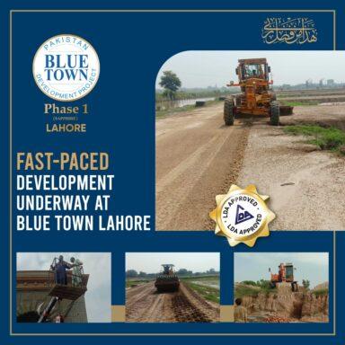 Fast Paced Development Work Underway